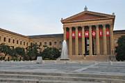 Museum Of Art - Philadelphia Print by Bill Cannon