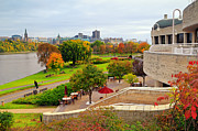 Ottawa Prints - Museum of Civilization Print by Charline Xia