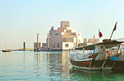 Doha Photo Framed Prints - Museum of Islamic Art Framed Print by Paul Cowan