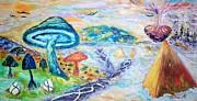 All - Mushrooming  by Mary Sedici