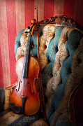 Player Photo Posters - Music - Violin - Musical Elegance  Poster by Mike Savad