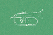 Music-02 Print by Eakaluk Pataratrivijit