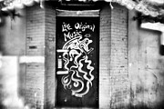 Live Art Prints - Music Door Print by John Rizzuto
