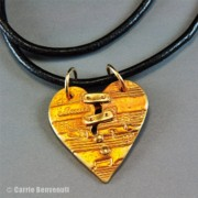 America Jewelry - Music Heals The Heart by Carrie Benvenuti