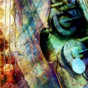Music Score Digital Art - Music II by Barbara Berney