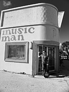Bands Prints - Music Man IV Print by Elizabeth Hoskinson
