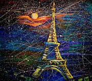 Sergei Parfeniuk Artist Painter Russia - Music of Night Paris