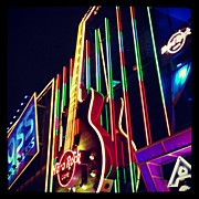 Music Art - #music #rock N #roll On #las #vegas by Nelly Ojeda