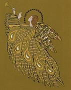 Musical Angel Print by Gillian Lawson