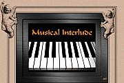 Musical Film Framed Prints - Musical Interlude Framed Print by Will Borden
