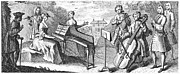 Music Stand Photos - Musicians, 1773 by Granger