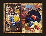 Music Of The Past Framed Prints - Musics Past - 2012 Framed Print by Tam Ishmael - Eizman