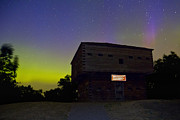 Northern Lights Prints - Muskegon Northern Lights Print by Joe Gee