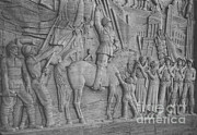 Mussolini, Haut-relief Print by Photo Researchers