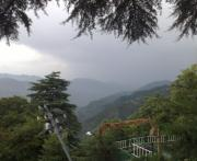 Monsoons Framed Prints - Mussoorie Monsoons Framed Print by Padamvir Singh