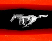Emblems Digital Art - Mustang by Dale   Ford