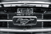 Muscle Car Prints - Mustang Print by Gwyn Newcombe