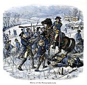 Mutiny: Anthony Wayne 1781 Print by Granger