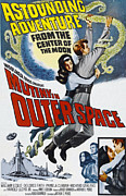 Dolores Framed Prints - Mutiny In Outer Space, Top Center Framed Print by Everett