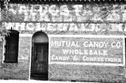 Ghost Signs Prints - Mutual Candy Company Print by Jan Amiss Photography