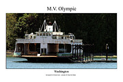 Space Needle Photographs Prints - MV Olympic Print by William Jones