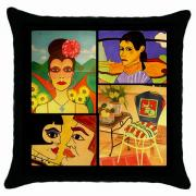 Janine Antulov - My Artwork Throw Pillow...