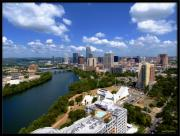 Austin Downtown Prints - My Austin I Print by James Granberry