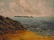 Irish Artists Painting Originals - My beach by Robert Gary Chestnutt