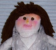 Handcrafted Art - My Beautiful Sock Doll - Photography by Rebecca Anne Grant