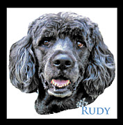 Rudy Prints - My Best Friend Print by Dennis Dugan