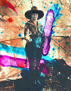 Cowgirl Mixed Media - My Big Hat by JDon Cook