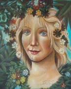 Woman - My Botticelli by Susi Galloway