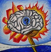 Felix Pinto Goncalves Art - My brain by Felix Pinto Goncalves
