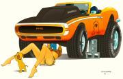 My Camaro Print by Lynn Rider