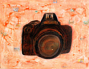 Camera Mixed Media Prints - My camera Print by Ravi Shekhar Pandey