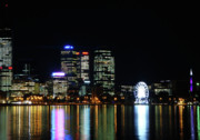 Kelly Jones Framed Prints - My City  Perth Framed Print by Kelly Jones