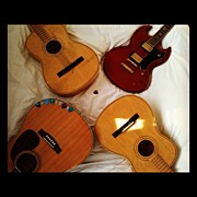 Music Art - My #collection So Far! #guitar #guitars by Nick Cooper