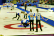 Olympic Photos - My Curling Dream by Lawrence Christopher