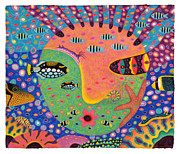 Triggerfish Painting Posters - My Daughter 1 Poster by Opas Chotiphantawanon