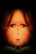 Creepy Digital Art - My daughter by Tisha Beedle