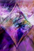 Mystical Art Digital Art Posters - My Diamond Poster by Linda Sannuti