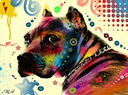Dog Pop Art Digital Art - My Dog by Mark Ashkenazi