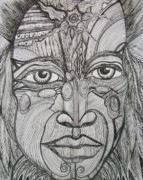 My Eyes Speak The Truth Print by Anita Wexler