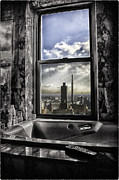 River View Metal Prints - My favorite channel is Manhattan View Metal Print by Madeline Ellis