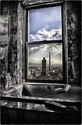 My Favorite Channel Is Manhattan View Print by Madeline Ellis
