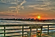 Fishing Pier Prints - My Favorite Place Print by Benanne Stiens