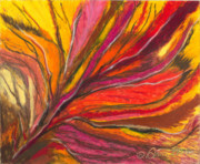 Abstracts Pastels - My Fever Burns by Ania M Milo
