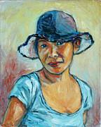 Xueling Zou - My First Self-Portrait