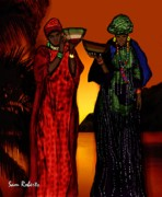 West Africa Digital Art - My Fula  by Sam Roberts