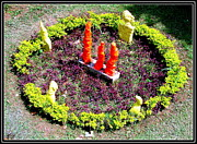 Landscapes Sculptures - My Garden Decoration -1 by Anand Swaroop Manchiraju
